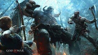 God of War 4 (ps4 pro) - Начало! (Без комментариев)