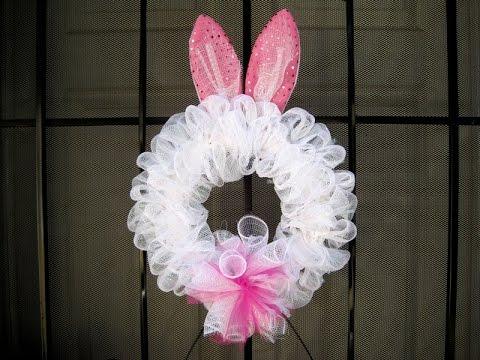Bunny Ears Wreath Featuring Miriam Joy Youtube