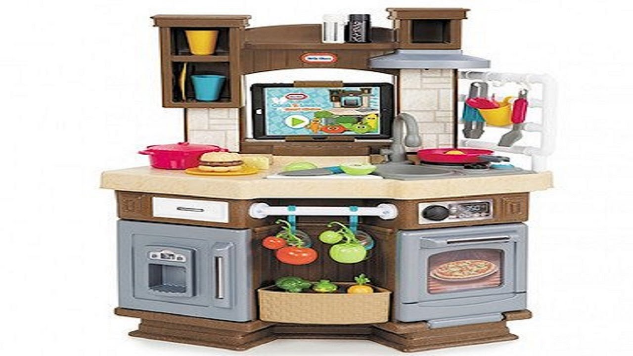 Little Tikes - Cook \'n Learn Smart Kitchen - YouTube
