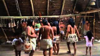 baile de la tribu boras iquitos