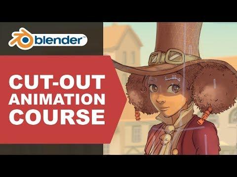 New course: Cut-out animation in Blender [$] - BlenderNation