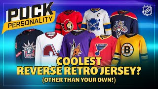 Coolest Reverse Retro Jersey? (Other Than Your Own!) | Puck Personality | NHL