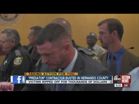 Unlicensed contractor leaves court in handcuffs