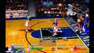 NBA Jam Extreme **Orlando Magic Vs Houston Rockets** (HD)