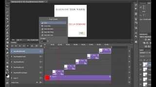 Photoshop cc ile bir slayt gösterisi oluşturmak için nasıl