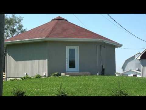 La maison solaire passive d 39 yves gatien youtube - Reflecteur solaire maison ...