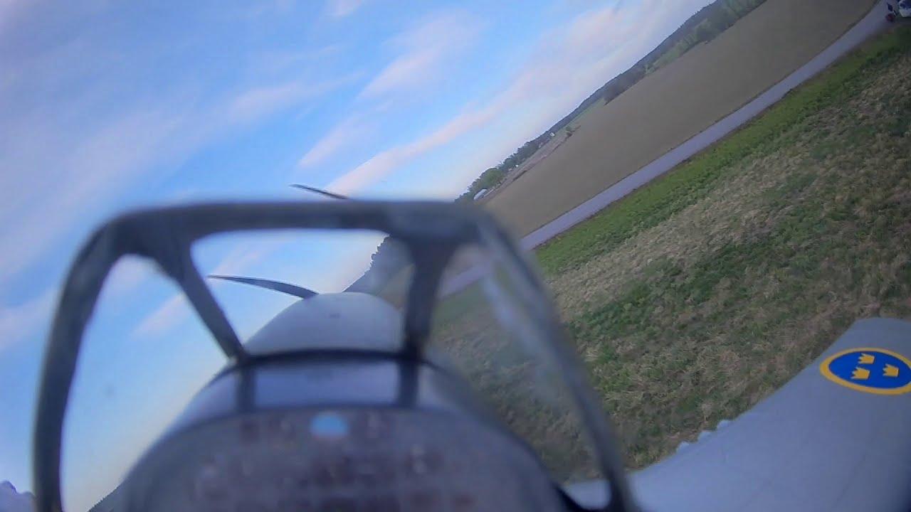 FlightLine P 51D FPV Maiden фотки