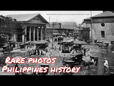 The Old Manila 1900 - 1945 Philippines, Vintage Photos with Discriptions