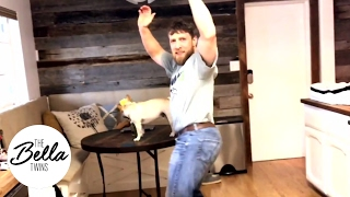 Daniel Bryan's Bella hip dance in dad gear does not disappoint! (Date night fashion problems!)