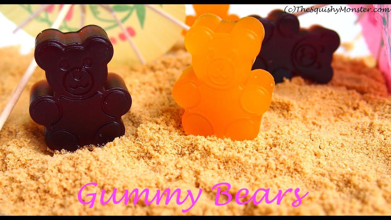 Easy 3 Ingredient Gummy Bears Recipe