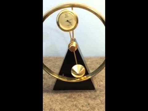 Seiko Pendulum Desk Clock Doovi