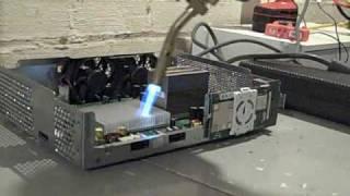Xbox 360 RROD Blowtorch Fix ( error 0110 )