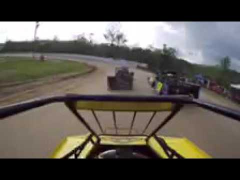 CJ KINNEER FEATURE -8th to 2nd I70-I77 SPEEDWAY 5-22-16