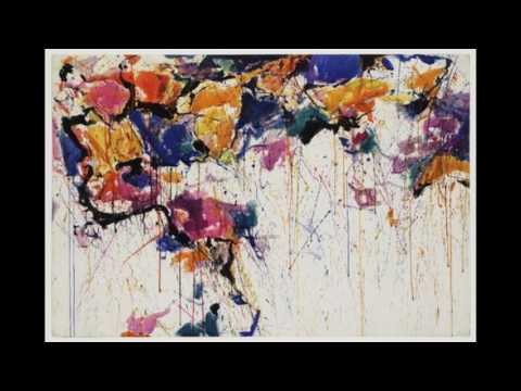 Sam Francis 薩姆弗朗西斯 (1923-1994) Color Field Painting  Lyrical Abstraction   American