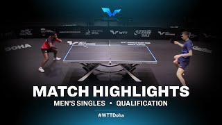 Kirill Skachkov vs Ibrahima Diaw | WTT Contender Doha 2021 | Men's Singles | QUAL Highlights