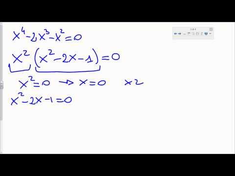 Equazioni risolvibili con scomposizione from YouTube · Duration:  7 minutes 7 seconds