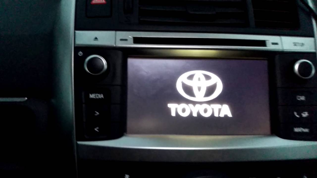 toyota touch and go hidden menu