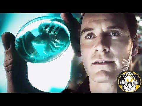 Alien Covenant: David Contacts Weyland-Yutani Deleted Scene - Explained