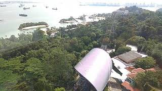 Singapore top sightseeing from sentosa top view