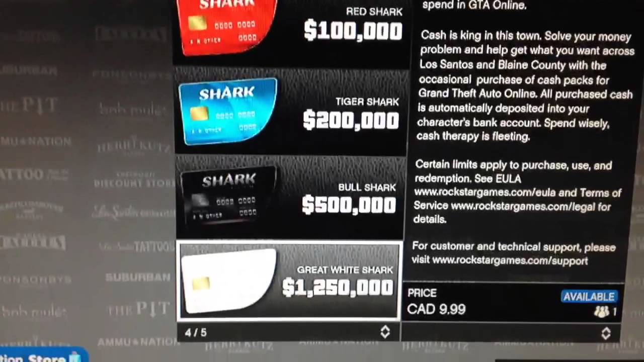 GTA 5 ONLINE HOW TO GET SHARK CARDS CHEAPER AFTER PATCH