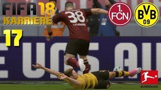 FIFA 18 KARRIERE [#17] ★ 1.FC Nürnberg vs. Borussia Dortmund, 11. Spieltag | Let