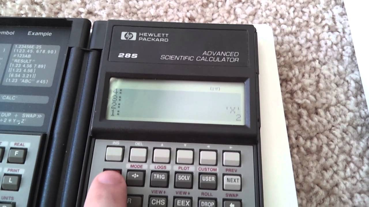 Hp-67 | rpn calculator | cardreader ok! Youtube.