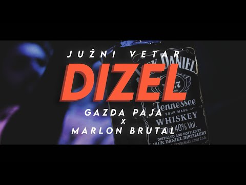 GAZDA PAJA x MARLON BRUTAL – DIZEL (MUSIC VIDEO 2020) 4K