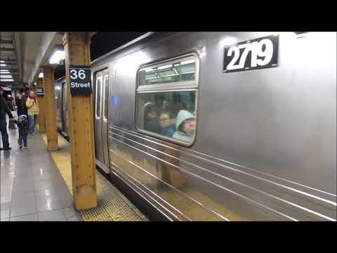 Subway (metro) In New York. Manhattan To Brooklyn - Ubahn