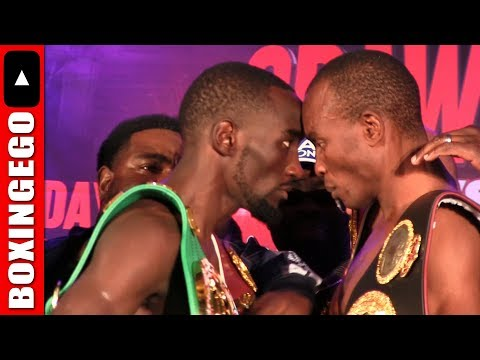 (MOST INTENSE FACE OFF OF THE YEAR!!!) Terence Crawford Vs Julius Indongo (ESPN) WOW!!!