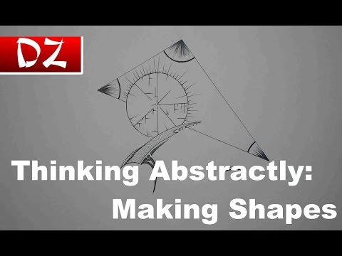 Thinking Abstractly: Making Shapes