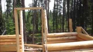 How To Build A Cabin (trapping Cabin) - Part 11