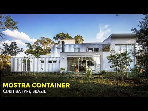 Mostra Container: Sustainable House in Curitiba (PR) Brazil