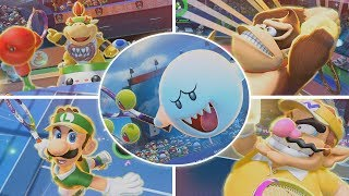 TODOS LOS GOLPES ESPECIALES - MARIO TENNIS ACES (SWITCH)
