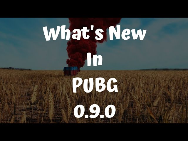 What's New In PUBG's Latest Update ?? 🤔