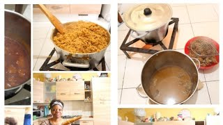 How to make Nigerian party food (Abroad)