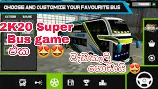 mobile Bus simulator | new bus game | 2k20 screenshot 4