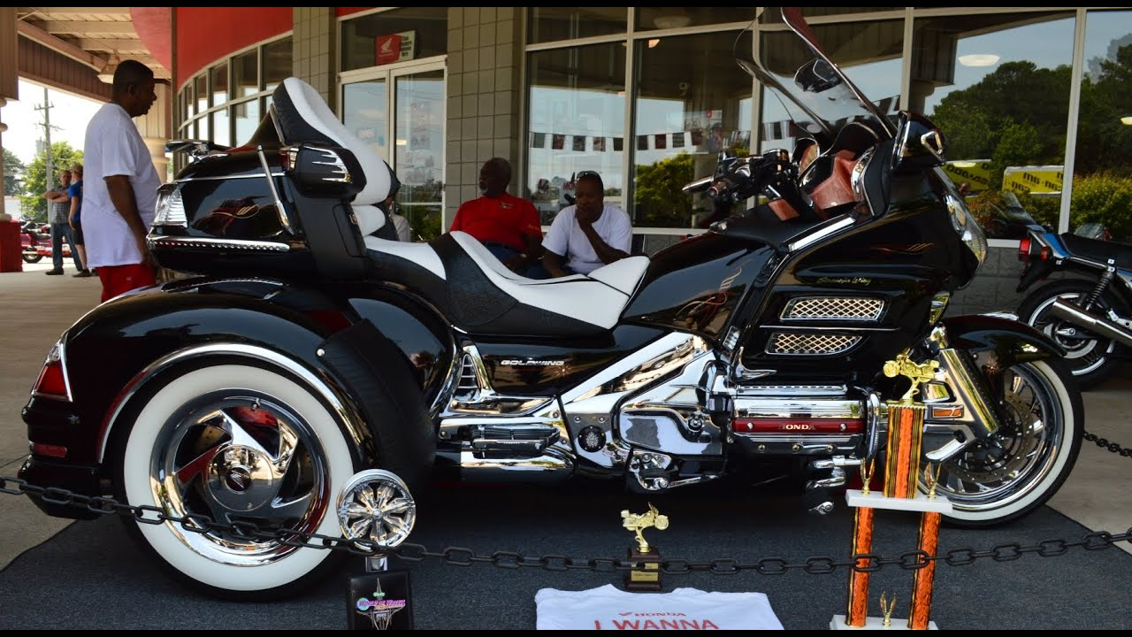 Custom Honda Gold Wing Trike quotSmooth Criminalquot by