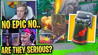 """Streamers CAN'T BELIEVE *NEW* """"AIR STRIKE"""" Item Coming to Fortnite!"""