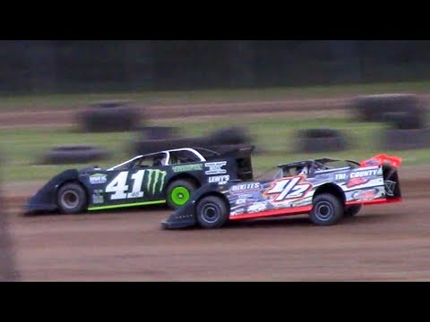 RUSH Crate Late Model Heat Two | McKean County Family Raceway | 6-16-18