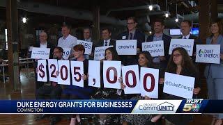 Duke Energy Provides Grants For Local Businesses