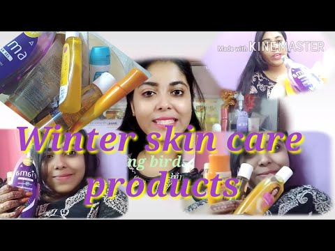 My Winter Skin Care Products Hindi