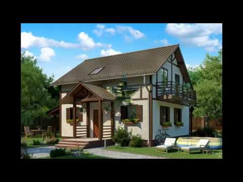 Красивые и уютные дачные домики. Фото