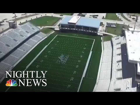 Record Amount Spent On Texas Football Stadium | NBC Nightly News