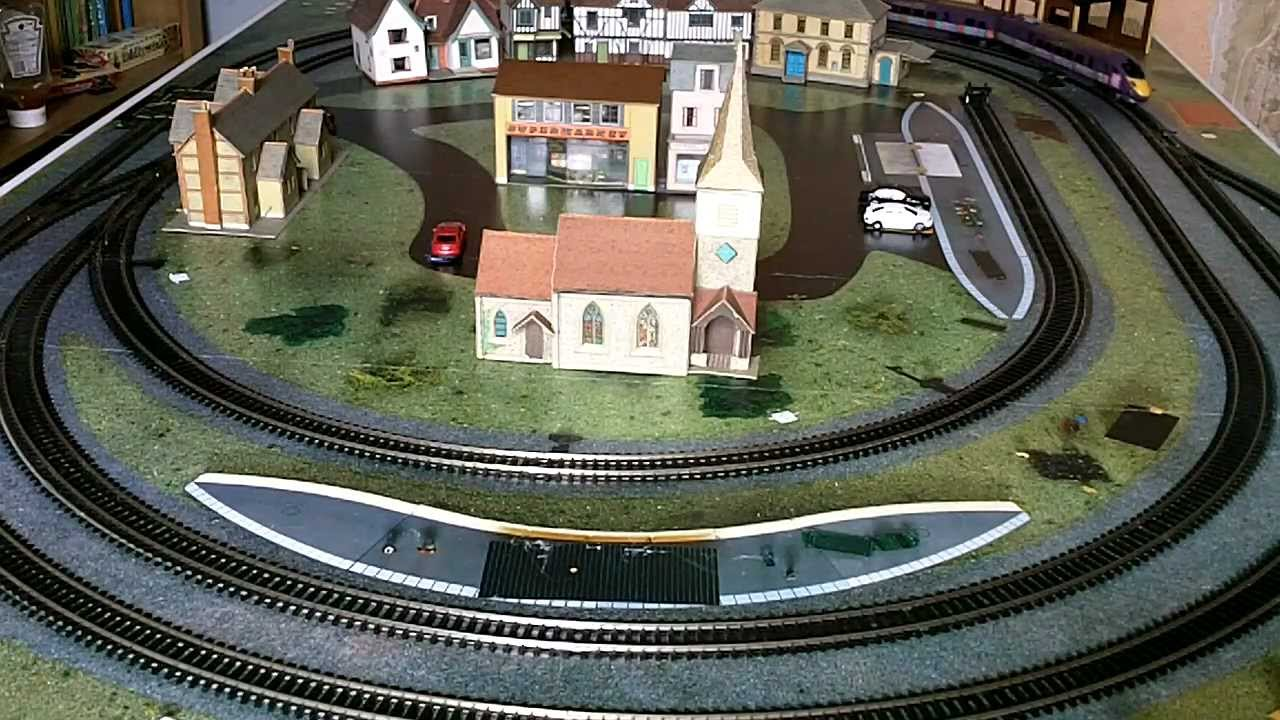 Hornby Trakmat Amp Superquick Buildings Youtube