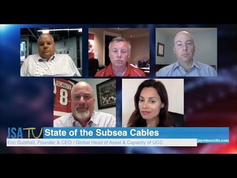 JSA Virtual CEO Roundtable | State of the Subsea Cables | Te