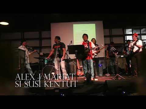 Alex J Mariat perform Si Susi Kentut di SCENIC Jakarta