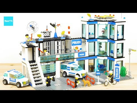 LEGO CITY Police Station 7498Build & Review UNBOXING