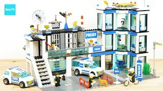 LEGO CITY Police Station 7498 Build & Review UNBOXING