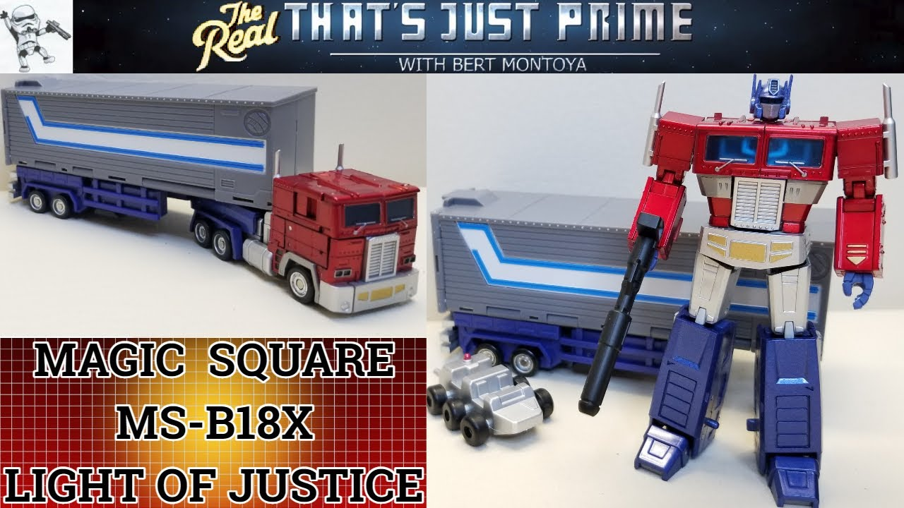 Magic Square Light of Justice (Legends Class OPTIMUS PRIME) Review -