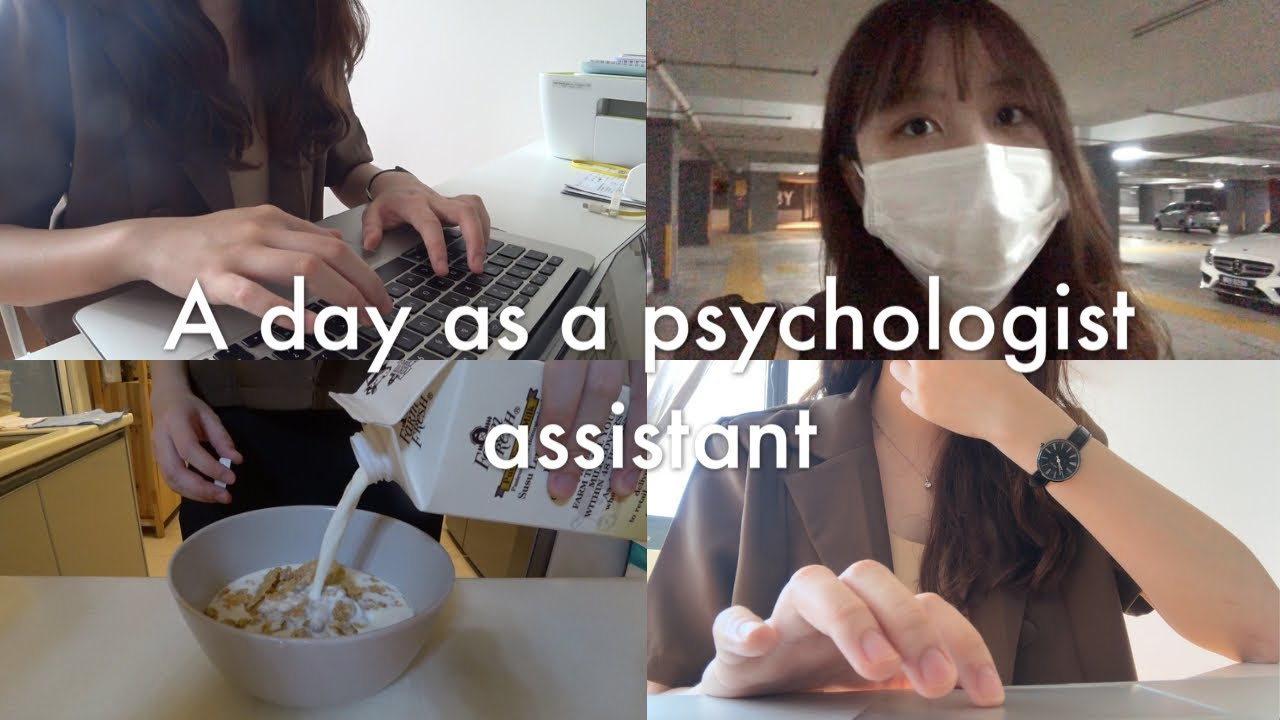(eng) A Day as an Assistant Psychologist 【工作日常】